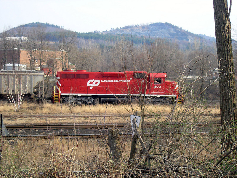 April 23, 2007 - White River Junction, VT - Clarendon & Pittsford engine - OLYMPUS DIGITAL CAMERA