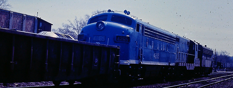 Ayer, Mass. - Freshly Painted Engine Number 4265 in 1972