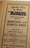 Flying Yankee Ad from 1929 Timetable