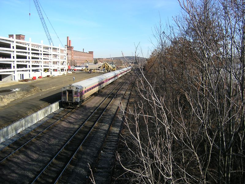 Lawrence Passenger Extra at New Station Site