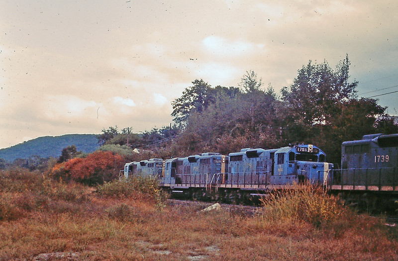 Bluebird Engines in 1973 on Fitchburg Div