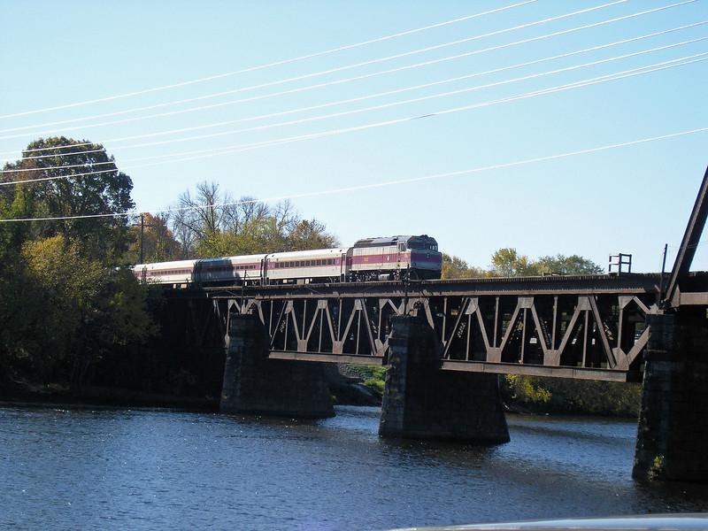 Merrimack River Bridge Before the Construction Project