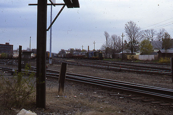 Lawrence Yard Eastbound Freight
