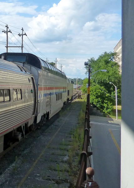 Haverhill Amtrak Great Dome on Train 686