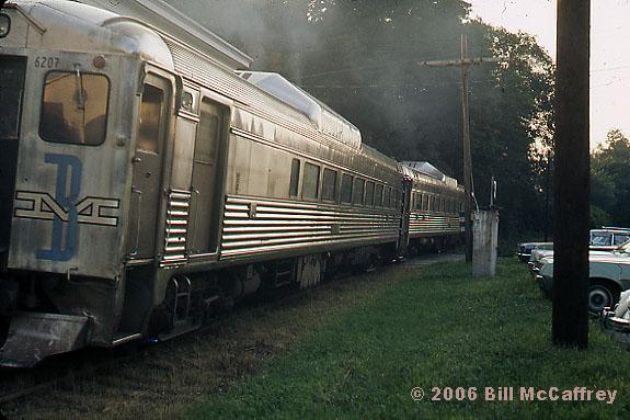 1972 - RDC Train on the Boston and Maine RR Lexington Branch
