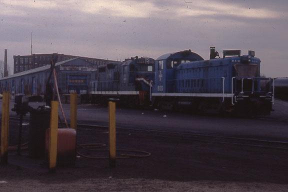 Lawrence Yard 2 engines
