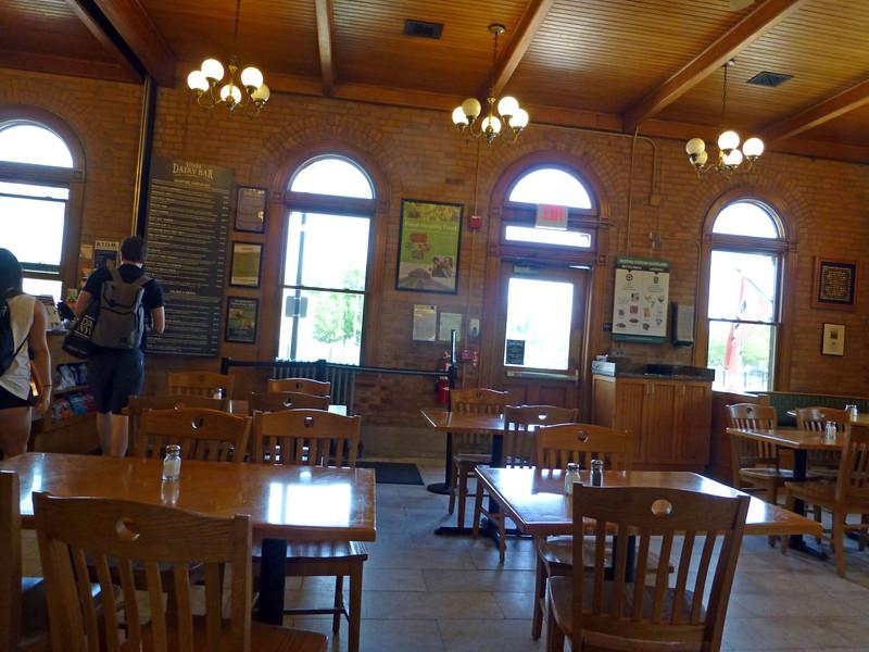 Durham, NH Station Interior