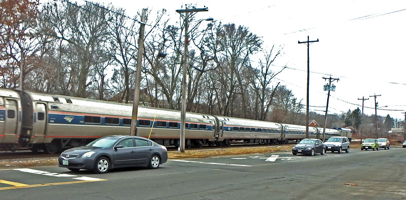 North Andover, MA Amtrak Train 681
