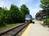 Dover NH Downeaster Arriving