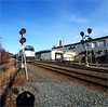 Ward Hill, MA - Train 684 the Downeaster