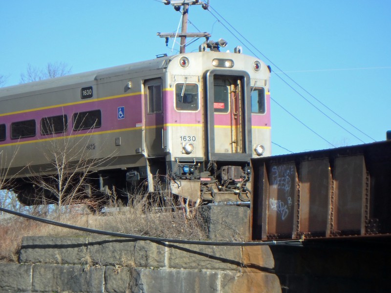 Bradford MBTA Train Number 2204 Control Car 1630