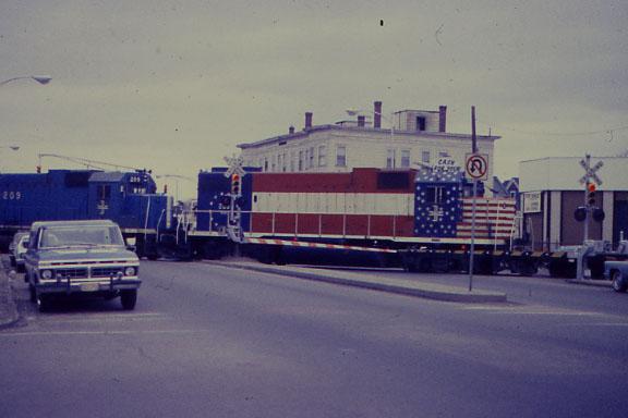North Cambridge Bicentenial Diesel
