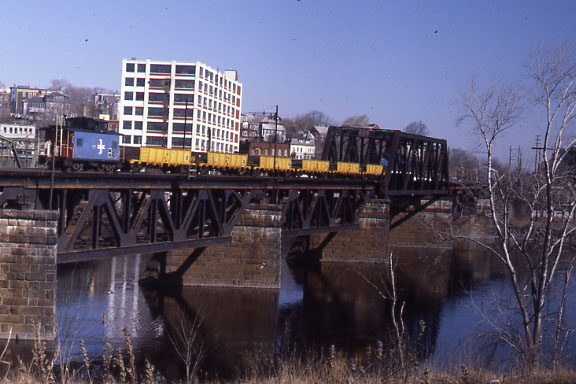 Merr River BR Welded Rail Train Buggy