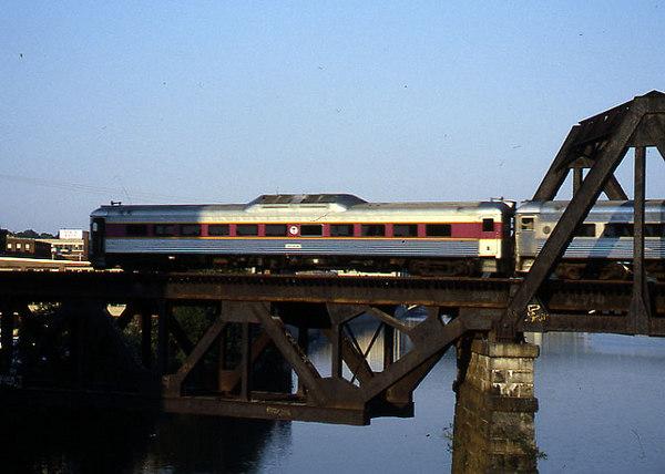 Merrimack River Bridge in 1988 RDC