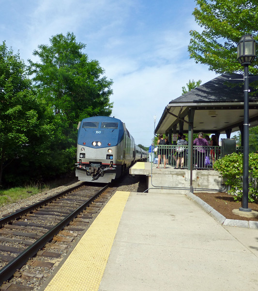 Dover NH Downeaster Train Number 696