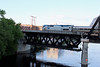 Merrimack River Bridge Train 687 on Haverhill Side of River
