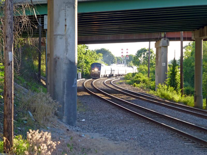 Marblehead Street Train 687