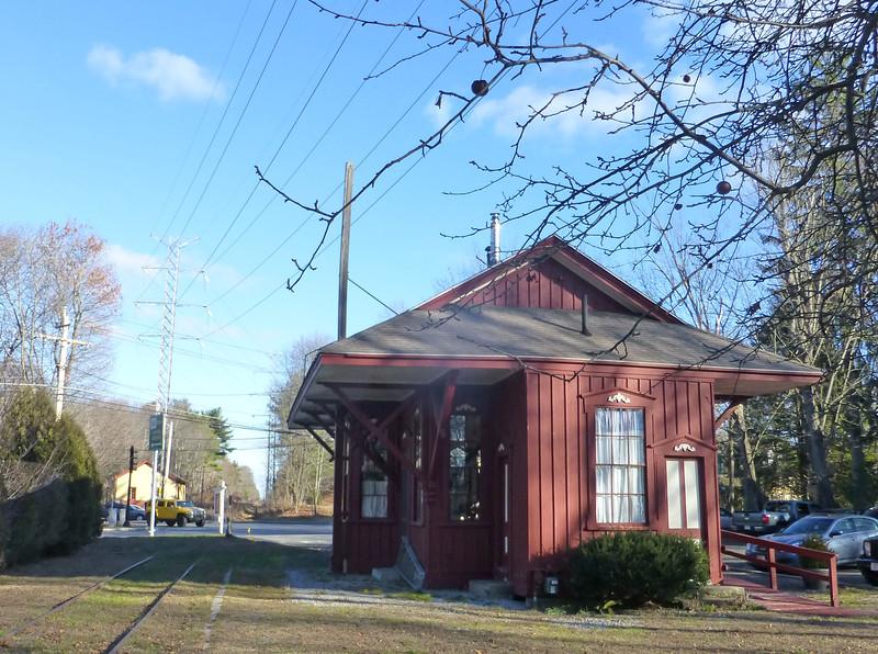 Wayland Depot in 2015