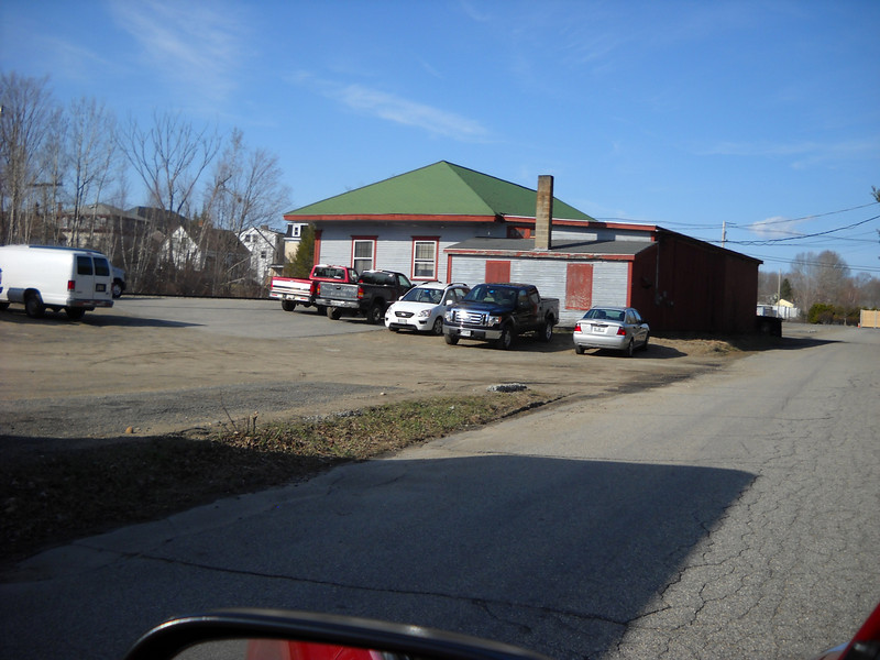 North Berwick, Maine - Former B&M Depot with an addition