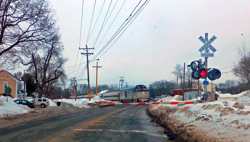 North Andover, Massachusetts - Amtrak Downeaster
