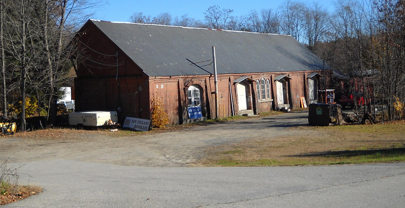 11/13/2010 -  Former B&M freighthouse at Newmarket, NH