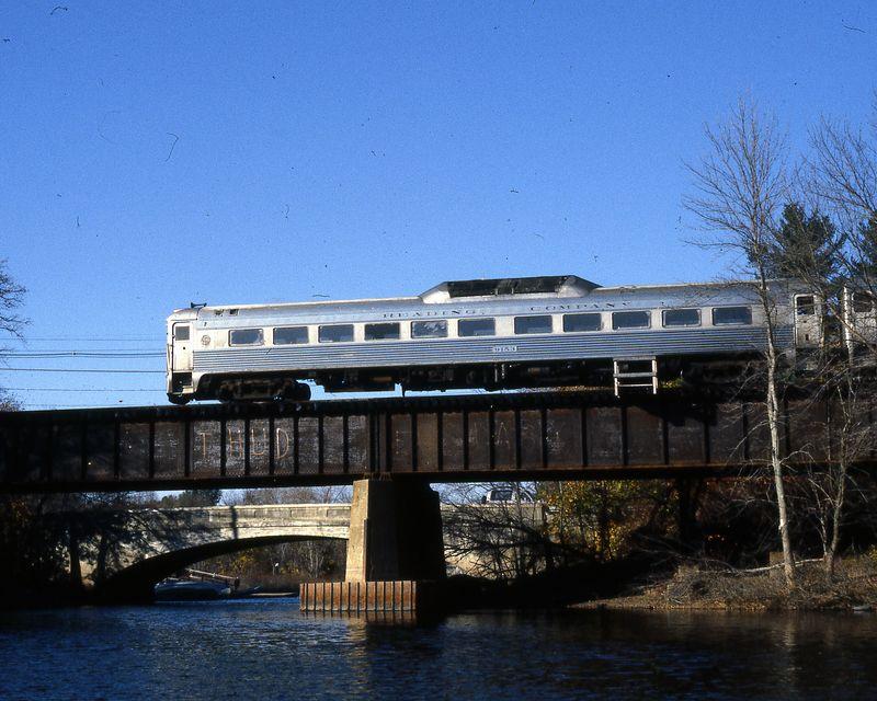Concord, MA - RDC on Bridge