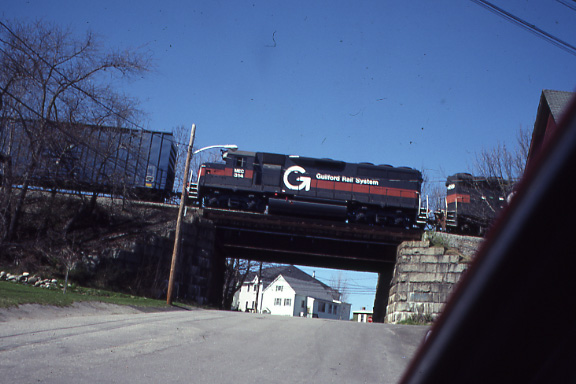 Saco Maine Guilford in 1999