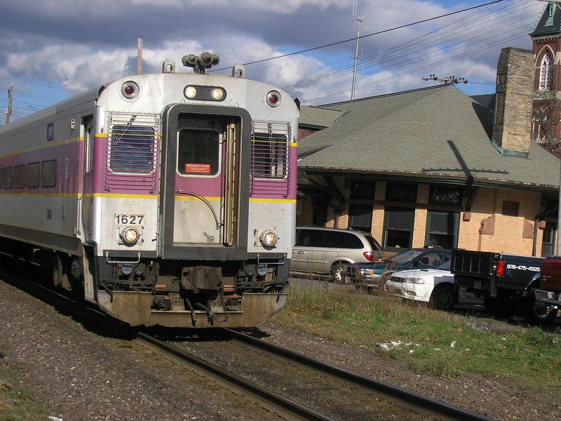 Train 222 at Andover Depot  -  OLYMPUS DIGITAL CAMERA