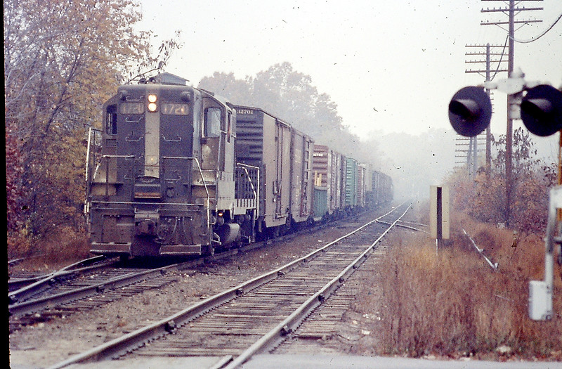 BM Engine 1720 with a Local Freight in 1972