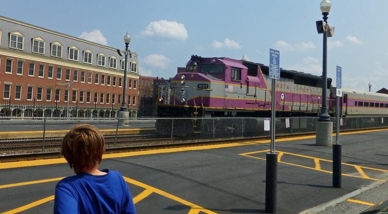 Haverhill, Massachusetts - MBTA Engine Number 1131