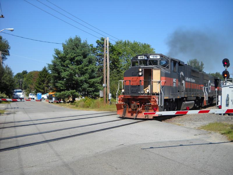 Ward Hill Engine Number 519 with open door