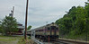 Bradford, Mass. - Train 2212 has passed the old depot and is at the switch to the layover facility