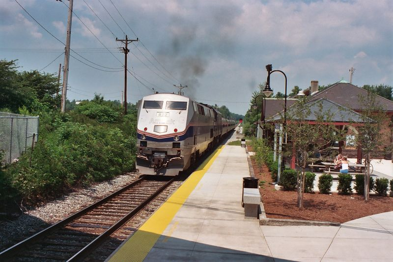 Durham Downeaster heading east