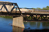 Merrimack River Bridge Amtrak Downeaster Train 687