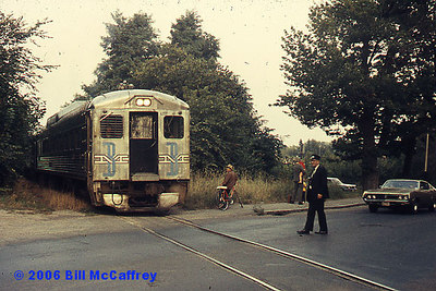 A crossing on the Lexington Branch - From a GAF slide dated Sept., 1972