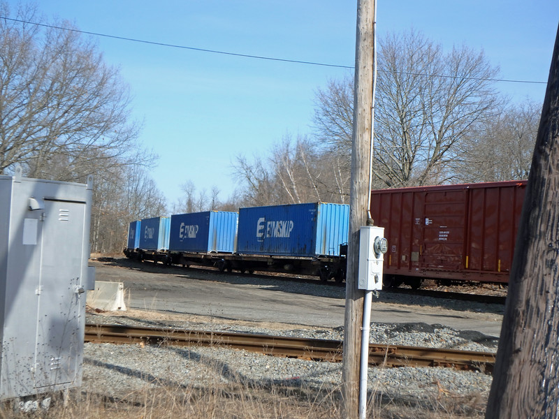 North Chelmsford Eimskip Containers