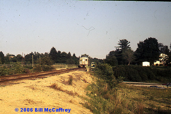 Lexington Branch RDC crossing RTE  128