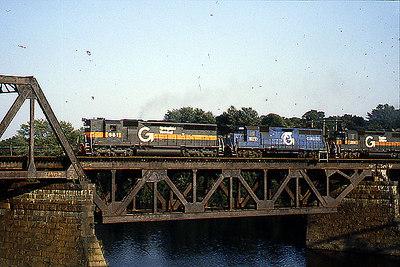 Merrimack River Bridge Guilford in 1988