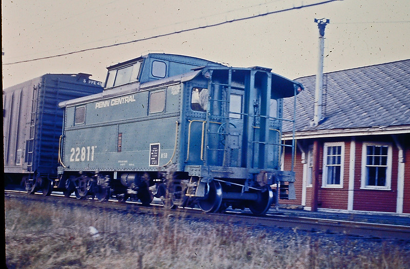 PC Caboose Number 22811 on the BM in 1973