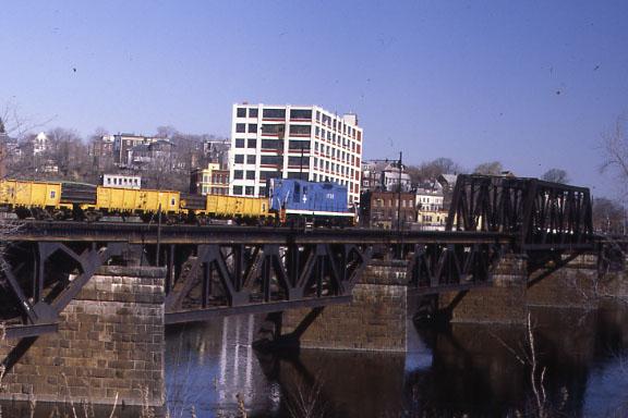 Merr River BR Welded Rail Train