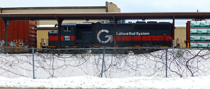 Lawrence at Old Station MEC Engine Number 509