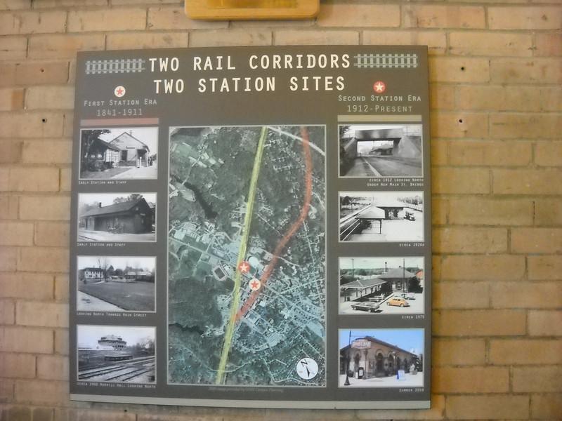 Durham NH Station Interior
