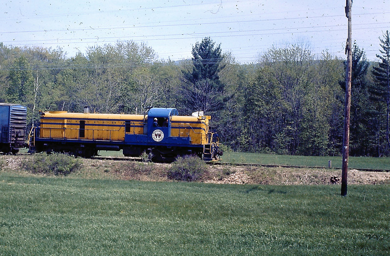 Wolfeborough RR Engine Number 101