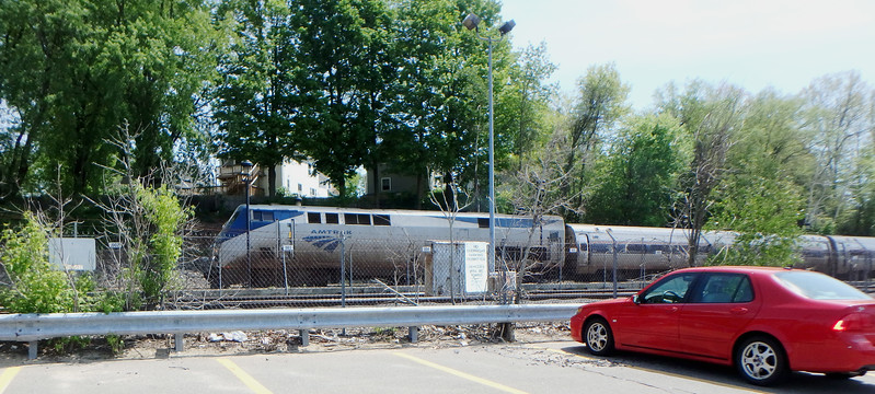 Bradford Commuter Station Downeaster Train 683