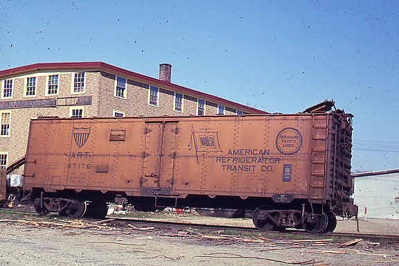 West Concord Refrigerator Car