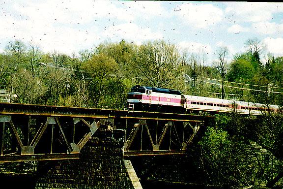 Merr River Bridge MBTA in 1997