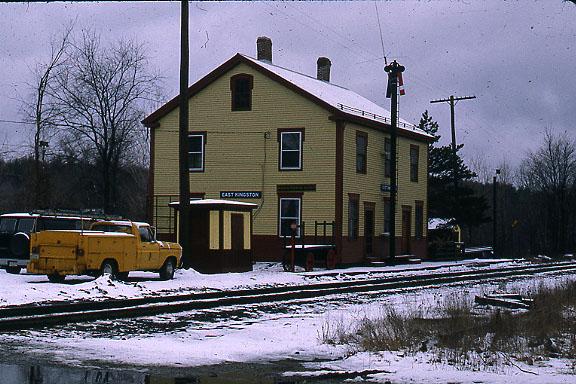 East Kingston NH Depot