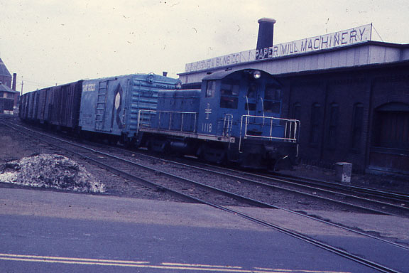 Lawrence Andover Street Switcher 1118