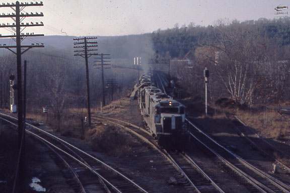 East Deerfield Eastbound Freight