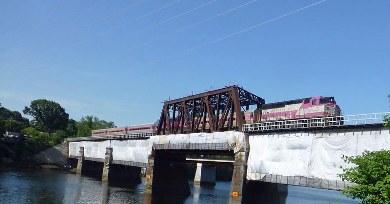 Merrimack River Bridge Train 201